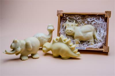 Animal Shaped Soaps in Wooden Box for Children